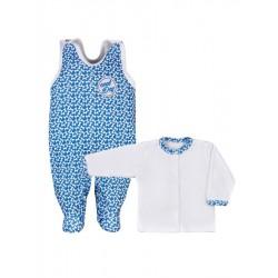 2-dielna kojenecká súprava Koala Cool Dog modrá