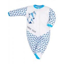 Dojčenský overal Bobas Fashion Baby Beti modrý
