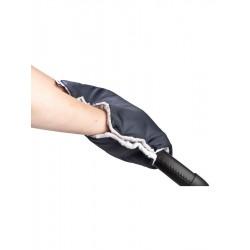 Rukávnik na kočík z Minky Sensillo 40x45 black