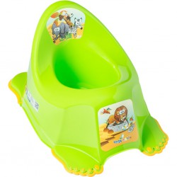 Detský nočník protišmykový Safari zelený