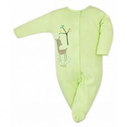 Dojčenský overal Bobas Fashion Mini Baby smotanový