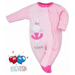 Dojčenský overal Koala Rabbit Magnet modrý