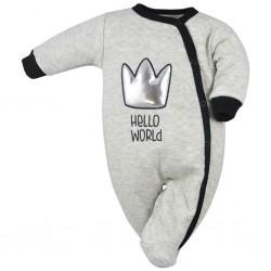 Dojčenský overal Koala Hello World