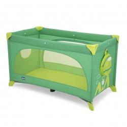 Chicco Cestovná postieľka Easy Sleep - Green Jam