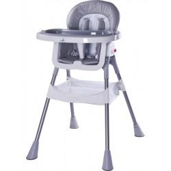Jedálenská stolička CARETERO Pop grey