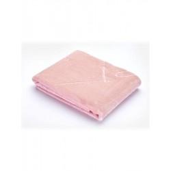 detská deka do kočíka ružová plyšová Sensillo