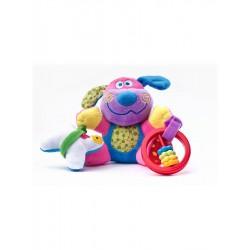 Edukačná plyšová hračka Sensillo psík s vibrácií a hrkálkou