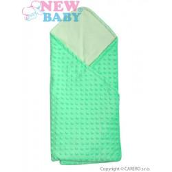 Multifunkčná detská deka 2v1 New Baby zelená