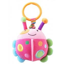 Detská plyšová hračka s vibráciou Baby Mix lienka