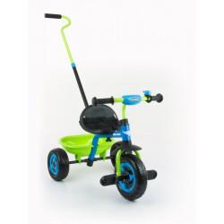 Detská trojkolka Milly Mally Boby TURBO blue-green