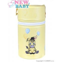 Termoobal Mini New Baby Zebra žltá