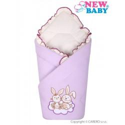 Zavinovačka New Baby Bunnies fialová