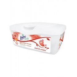 Vlhčené obrúsky Linteo Baby 72 ks Soft and cream BOX
