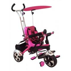 Detská trojkolka Baby Mix pink