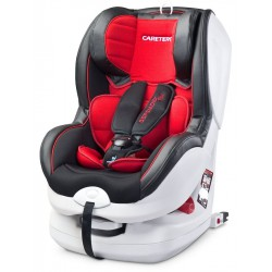 Autosedačka CARETERO Defender Plus Isofix red 2016