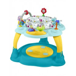 Multifunkčný detský stolček Baby Mix modro-žltý