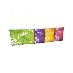 Papierové vreckovky Linteo Satin mini 10x10ks biele 3-vrstvové