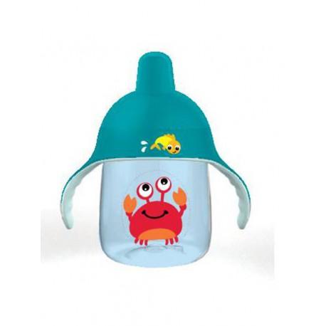 Kúzelný hrnček Avent Premium Krab 260 ml modrý