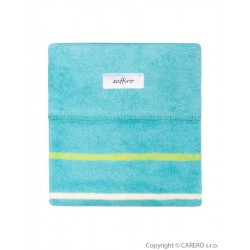 Detská bavlnená deka Womar 75x100 svetlo tyrkysová