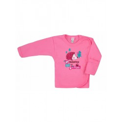 Dojčenská košieľka Bobas Fashion Ježko ružová