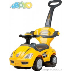 Detské jazdítko 3v1 Bayo Mega Car yellow