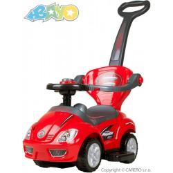 Detské jazdítko 3v1 Bayo Mega Car red