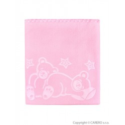Detská deka Womar 90x80 ružová
