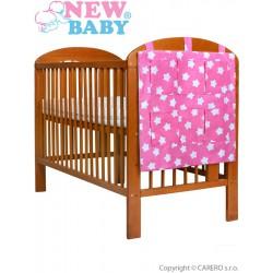 Vreckár New Baby hviezdičky ružový