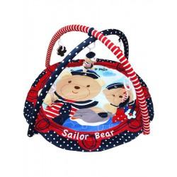 Hracia deka Baby Mix medvedíci námorníci