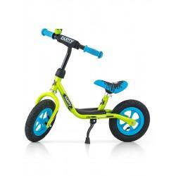 """Detské odrážadlo bicykel Milly Mally Dusty green 12"""""""