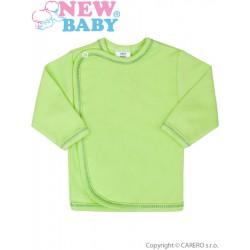 Dojčenská košieľka New Baby zelená