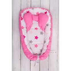 Hniezdočko pre bábätko Belisima ružové