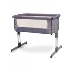 Detská postieľka CARETERO Sleep2gether graphite