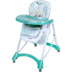 Jedálenská stolička Baby Mix mint