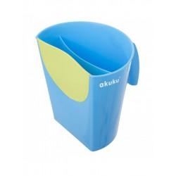 Nádobka na umývanie vlasov Akuku modrá
