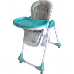 Jedálenská stolička Baby Mix Junior blue