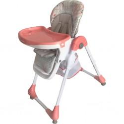 Jedálenská stolička Baby Mix Junior pink