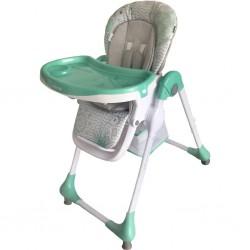 Jedálenská stolička Baby Mix Junior mint