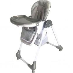 Jedálenská stolička Baby Mix Junior dark grey