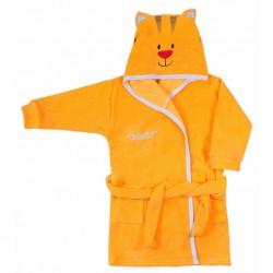 Detský župan Koala Freak oranžový