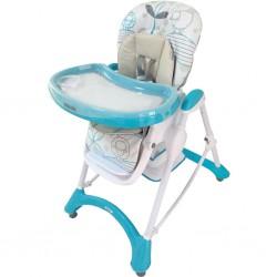 Jedálenská stolička Baby Mix turquoise