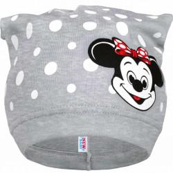Jarná detská čiapočka New Baby myška sivá