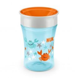 Detský hrnček Magic NUK 360 ° modro-oranžový
