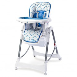 Jedálenská stolička CARETERO One blue