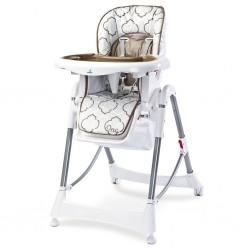 Jedálenská stolička CARETERO One brown