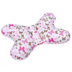 Stabilizačný vankúšik New Baby ružový motýlik