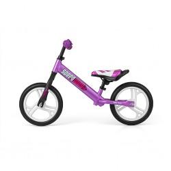 """Detské odrážadlo bicykel Milly Mally Speedway 12"""" violet"""