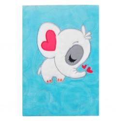 Detská deka Koala Animals tyrkysová