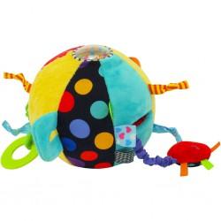 Edukačná plyšová hračka Baby Mix Loptička