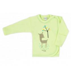 Dojčenská košieľka Bobas Fashion Mini Baby zelená